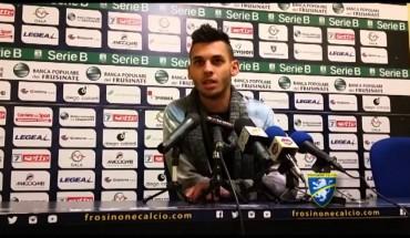 Frosinone Calcio, squalifica e multa per il centrocampista Mirko Gori