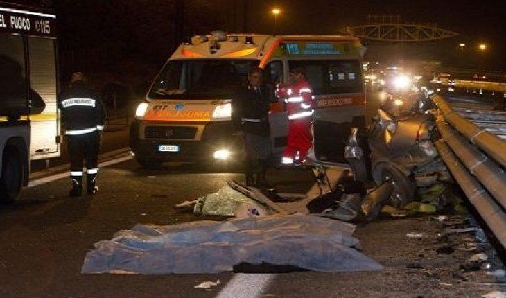 Incidente sul Raccordo, un morto e quattro feriti a Roma
