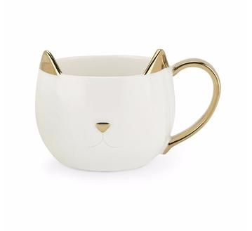 tazza a forma di gatto particolare